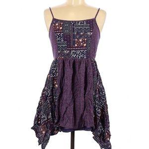✨ Super cute boho chic patchwork dress 🖤